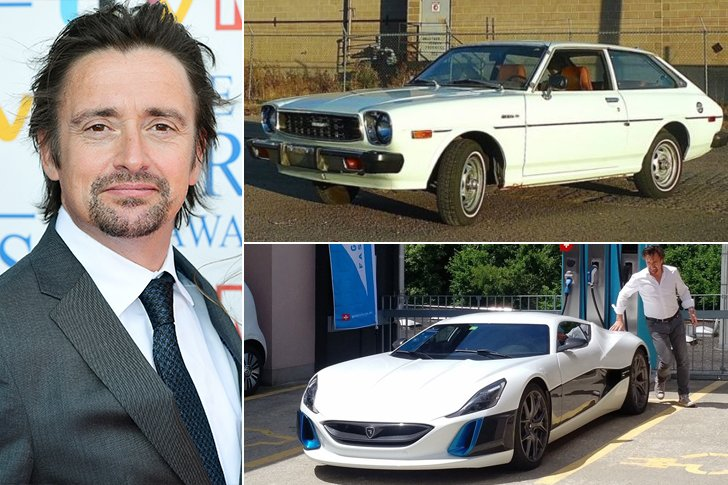 Richard Hammond Cars: Celebrities' First Vs. Last Cars: Some Upgraded Their